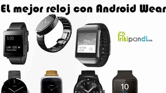 ¿Cuál es mejor reloj Android Wear?