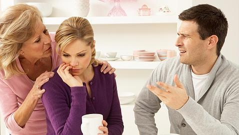La inmadurez de uno de los miembros de la pareja hace que se apegue a su madre
