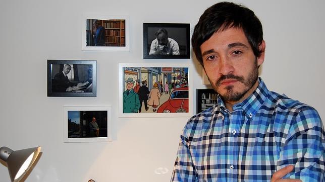 El escritor Santiago Velázquez