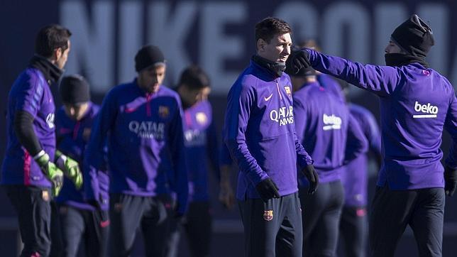 Control sorpresa al Barça