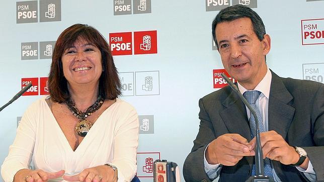 Cristina Narbona y Constantino Méndez, de la gestora que dirigió el PSM en 2007