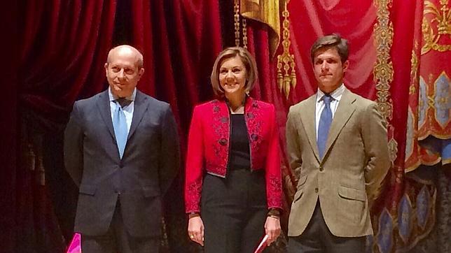 Wert, Cospedal y El Juli, en la inauguración del Congreso