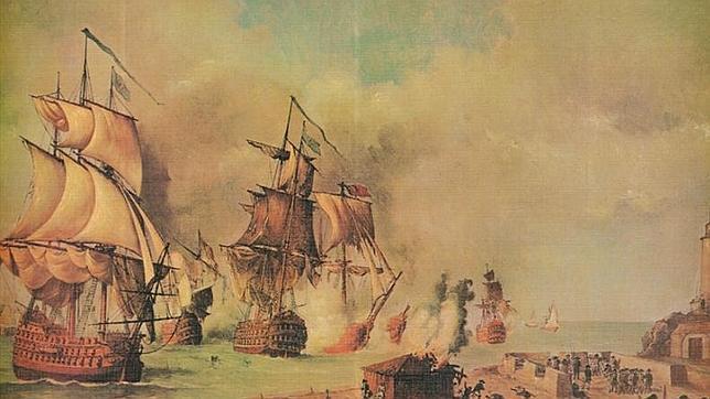 Fallido ataque británico a Cartagena de Indias en 1741