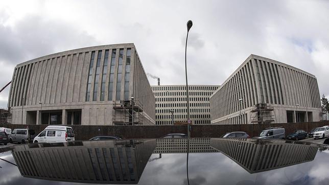 La nueva sede de los servicios secretos alemanes, en construcción