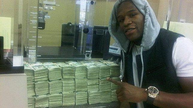 Floyd Mayweather, uno de los deportistas más ricos del mundo