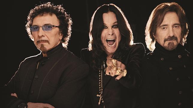 Los integrantes de Black Sabbath, en una imagen promocional