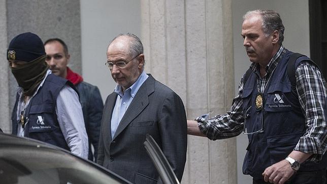 Rodrigo Rato, detenido