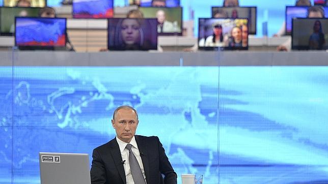 Putin, en «Línea directa»