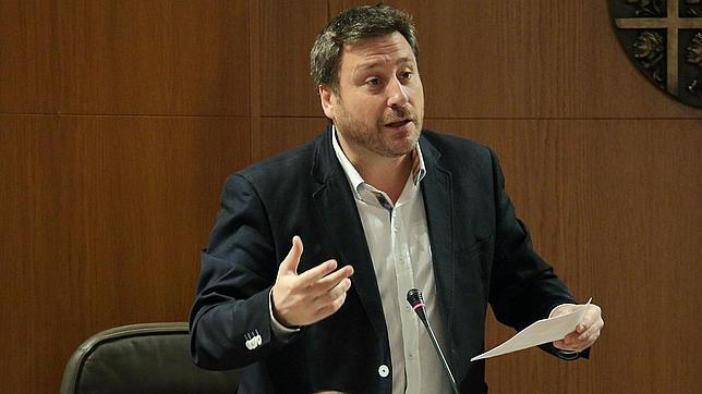 José Luis Soro, candidato de CHA a la Presidencia del Gobierno aragonés