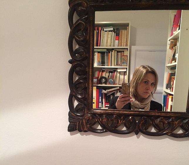 El selfie reflejado que Sònia Hernández dedica a ABC Cultural