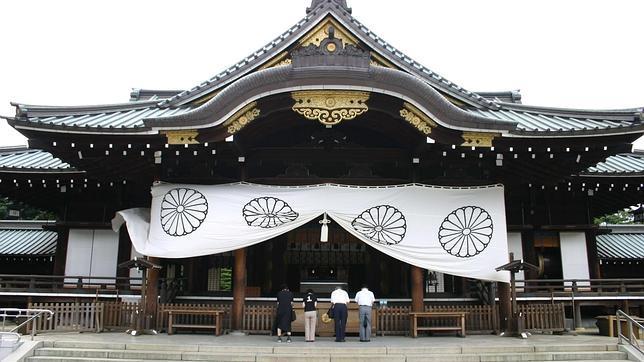 El santuario sintoísta de Yasukuni, ubicado muy cercadel Palacio Imperial de Tokio