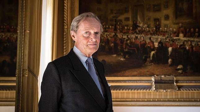 Wellesley posa en Apsley House, su magnífica residencia en el centro de Londres