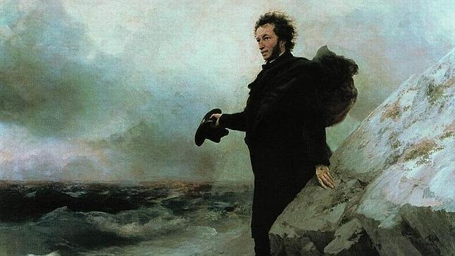 El adiós de Pushkin al mar