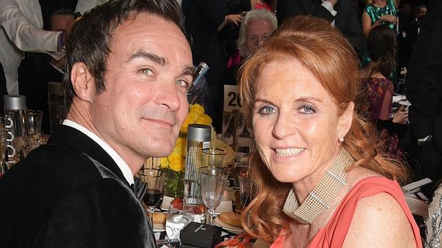 La duquesa de York en la gala benéfica de Cannes