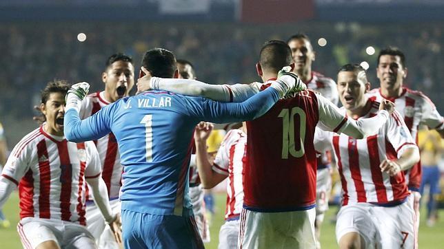 Paraguay celebra el pase a semifinales