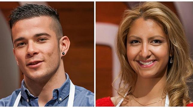 Carlos y Sally, finalistas de Masterchef