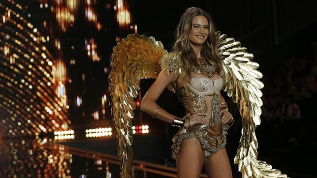 Prinsloo en el Victoria's Secret Fashion Show de 2014