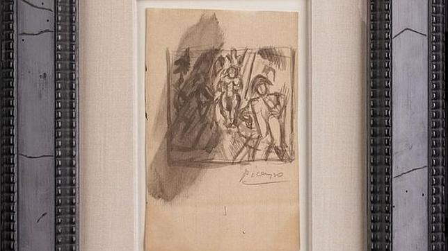 «La tentación de San Antonio», de Pablo Picasso