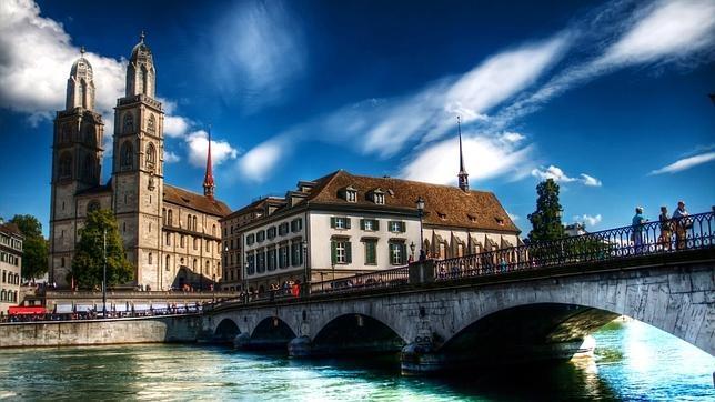 Zúrich (Suiza) es considerada por Numbeo la ciudad con mejor calidad de vida del mundo