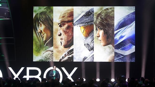 Microsoft, durante su conferencia en la Gamescom 2015