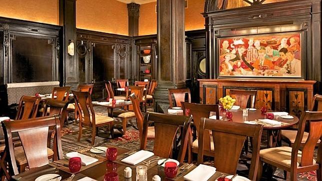 La mesa redonda del hotel Algonquín