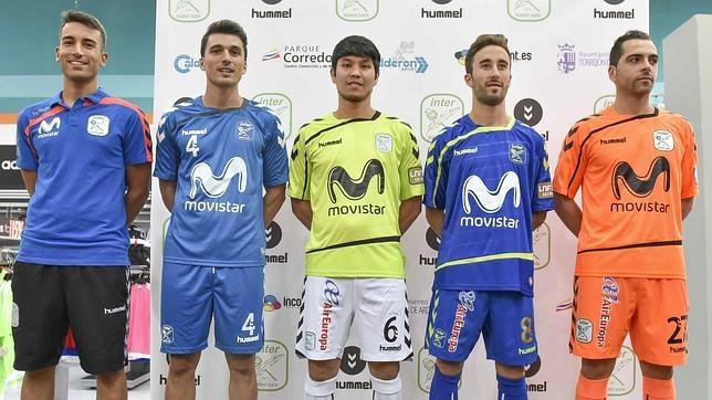 Álex, Lolo, Daniel, Rivillos y Jesús, jugadores de Movistar Inter