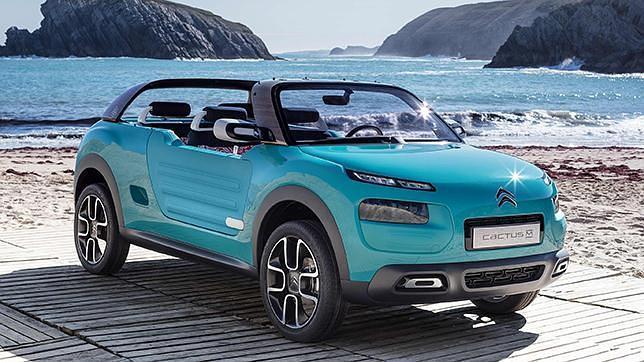 Citroën Cactus M, ¿un nuevo miembro de la familia Cactus?