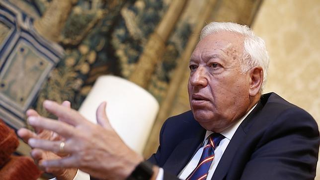 El Ministro de Exteriores Manuel García-Margallo