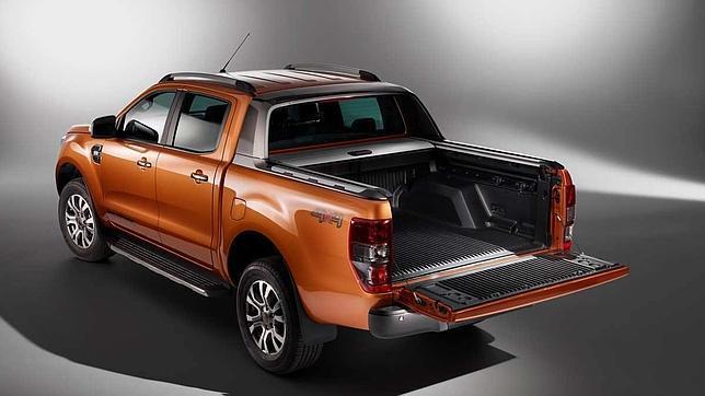 El Ford Ranger ofrece tracción a las cuatro ruedas accionable por el conductor