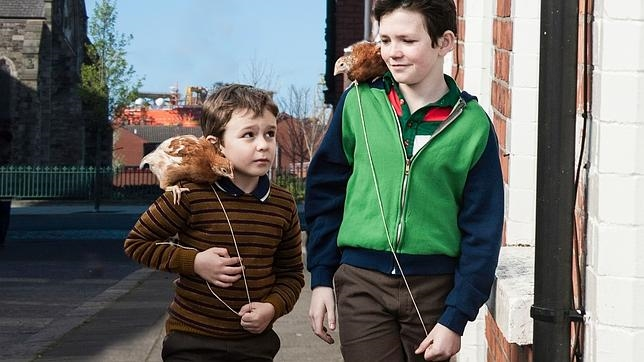 «Boogaloo y Graham», uno de los cortos que se proyecta hoy