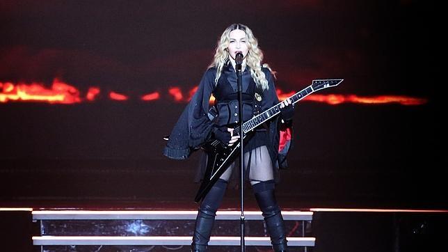 Madonna en el Madison Square Garden el 16 de septiembre