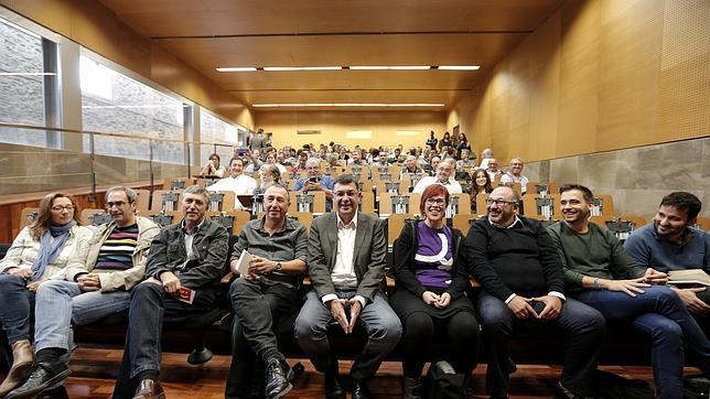 Imagen de la reunión celebrada por el Bloc este sábado