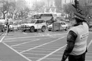 Las unidades de tráfico no están, de momento, en el punto de mira de las críticas sindicales. Daniel G. López