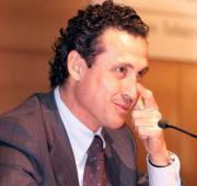 Valdano, ayer, en su conferencia en la Asociación Hispano-Francesa Miguel Berrocal