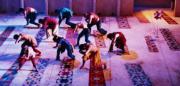 En la coreografía «TángeIr», Teresa Nieto baila el día, como muestra esta imagen. ABC