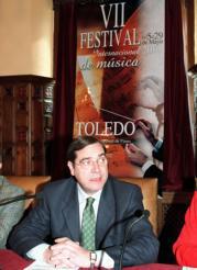 Miguel Ángel Ruiz-Ayúcar presentó ayer este festival musical de mayo. Oscar Huertas