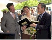Los Duques de Lugo inauguraron la Feria del Libro de Madrid