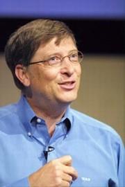 El presidente de Microsoft, Bill Gates