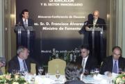 El Foro concluyó con un debate con Álvarez-Cascos moderado por el director de ABC. En la mesa presidencial, el presidente de ABC, Nemesio Fernández Cuesta, José Antonio Rodríguez Gil, de Andersen, y Marcelino Oreja. Ernesto Agudo