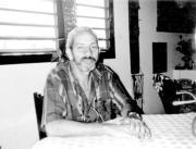 Vladimiro Roca en su casa de la Habana en 1999.M. Hernández
