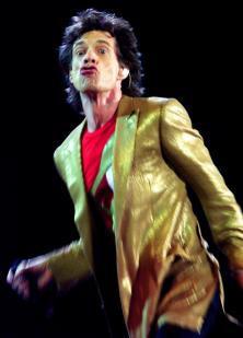 Mick Jagger, anteayer en su reaparición en Londres. REUTERS