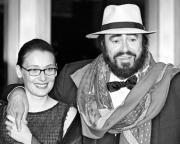 Nicoletta Mantovani contraerá matrimonio con Pavarotti el próximo sábado