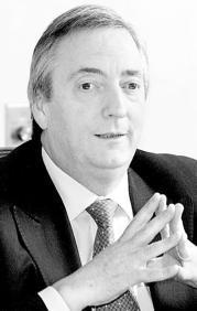 Néstor Kirchner. J. PRIETO