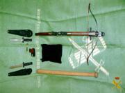 EFE  Los maleantes empleaban estas armas para intimidad a sus víctimas
