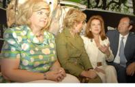 ABC  Esperanza Aguirre, Mariluz Barreiros y Luis Miguel Rodriguez (de izquierda a derecha)