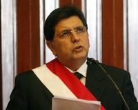 El socialdemócrata Alan García Pérez virtual presidente del Perú. /EFE