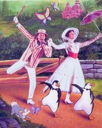 Julie Andrews protagonizó la versión cinematográfica de Mary Poppins de 1964. /ARCHIVO
