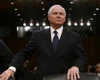 Robert Gates, antes de testificar en Washington. / REUTERS