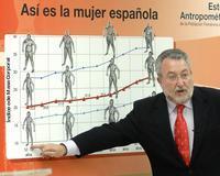 El ministro de Sanidad y Consumo, Bernat Soria, durante la presentación de los resultados del estudio