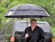 EFE. El presidente Bush, ayer en el jardín de la Casa Blanca
